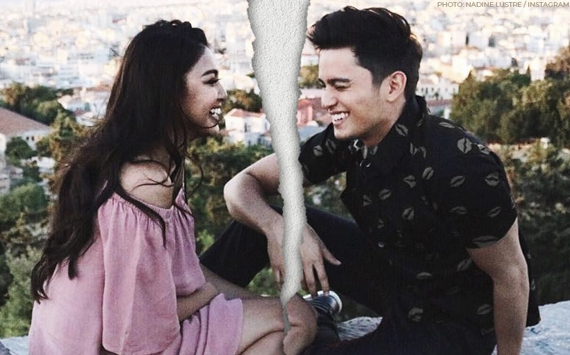 James, Nadine confirm breakup: 'We decided to focus on ourselves'