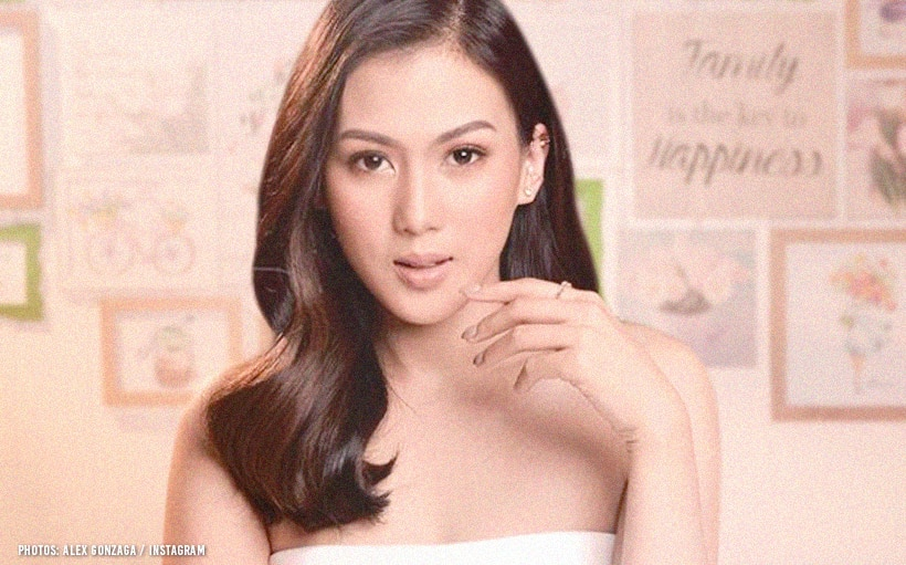 Alex Gonzaga has finally picked her wedding dress!