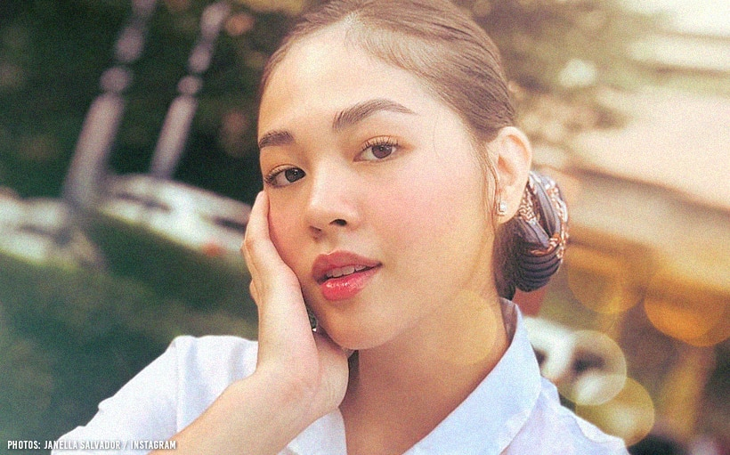 Janella Salvador sports a shorter 'do and new bangs!