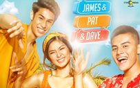 Here's the official 'James and Pat and Dave' poster!