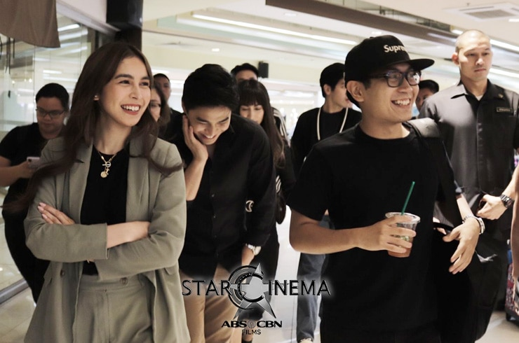 Julia, Ina, Mccoy, Jan, and Joshua bring joy to their fans at SM Mall of Asia! 01