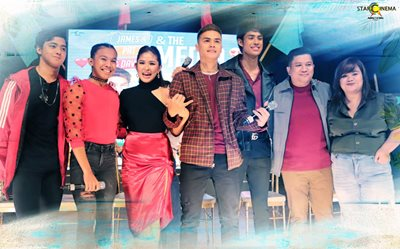 PHOTOS: Loisa, Ronnie, and Donny spread love and good vibes at the 'James and Pat and Dave' press conference!