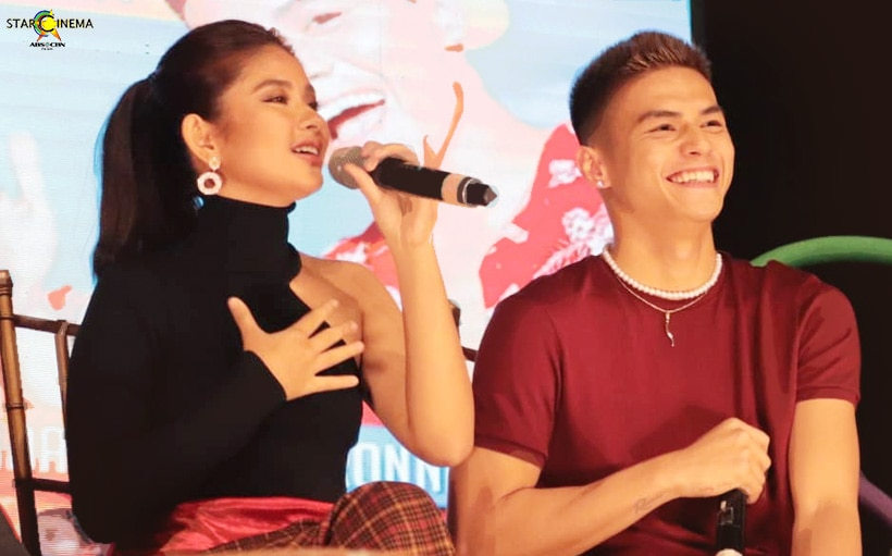 Here's how Loisa and Ronnie kept it professional for 'James and Pat and Dave!'