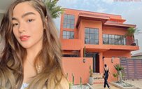 Andrea Brillantes finally builds her dream house for her family!