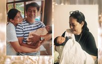 Maricel Soriano, Willie Revillame meet Meryll Soriano's new baby