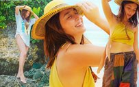 PHOTOS: Kathryn's beach trip with Daniel and her family!