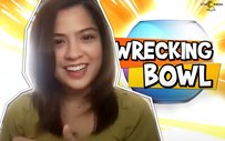 Alexa Ilacad takes on our crazy Wrecking Bowl questions!