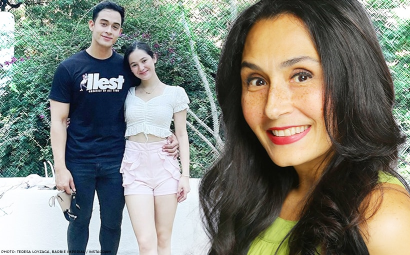 Teresa Loyzaga, may advice sa anak na si Diego at Barbie Imperial!