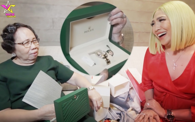 Vice Ganda surprises family members with a Christmas gift prank!
