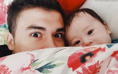 Markus and Baby Jude are total cuties in their new pic!
