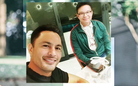 Kris Aquino shares story behind son Bimby's photo with Derek Ramsay