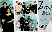 A glimpse of Janella's Audrey Hepburn-themed baby shower, courtesy of Liza!