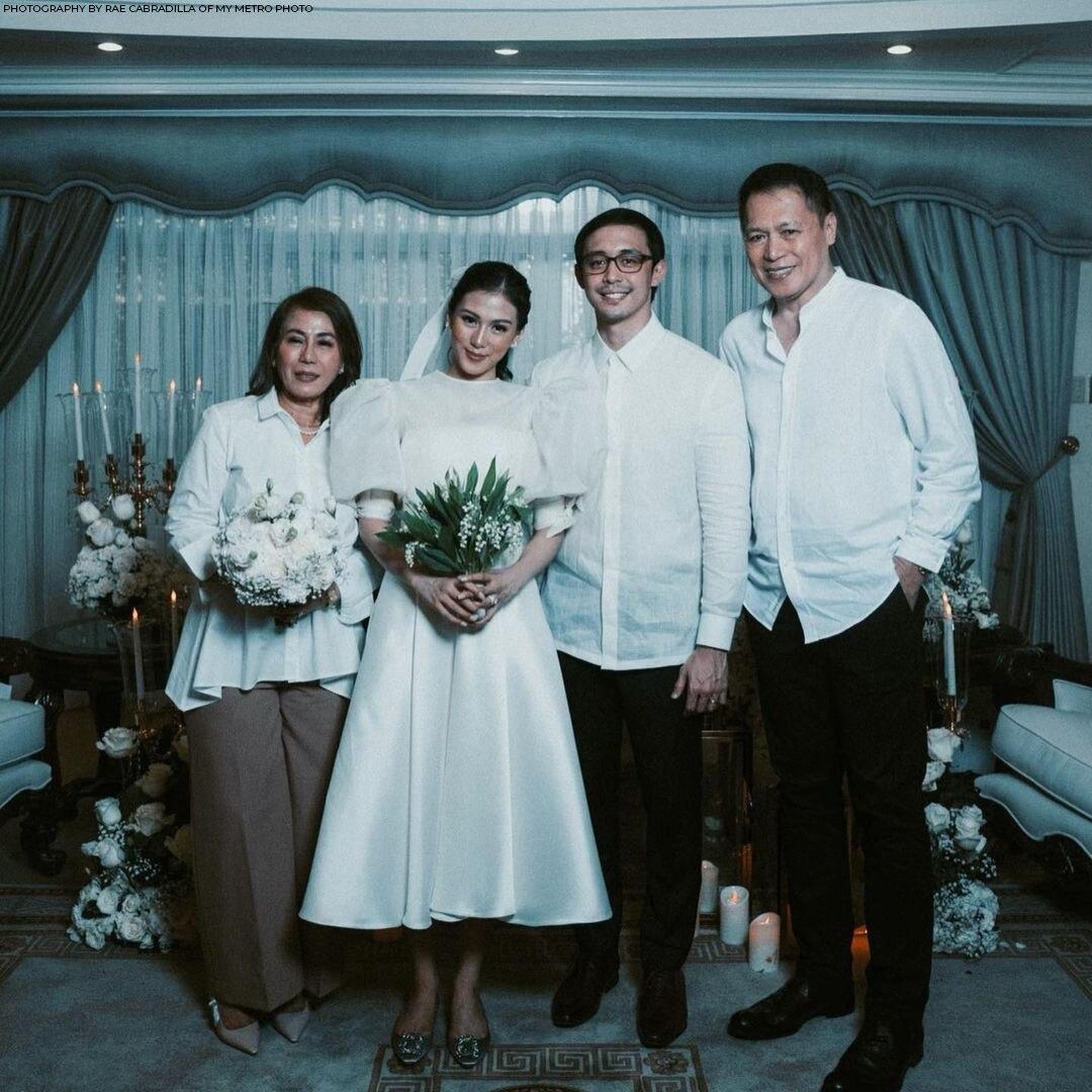 Alex Gonzaga and Mikee Morada's civil wedding