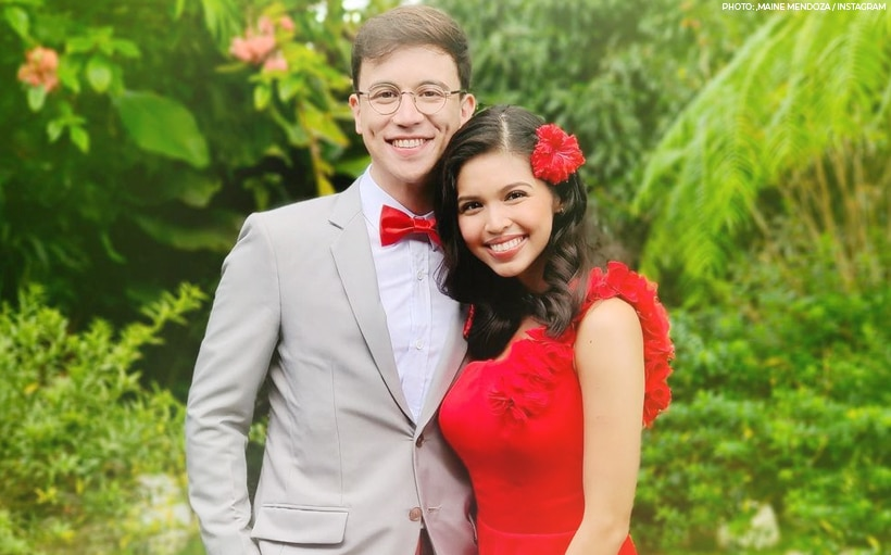 Maine and Arjo share a kilig look of love in new photo!