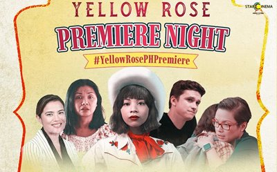 IN PHOTOS: 'Yellow Rose' holds virtual premiere night in the PH!
