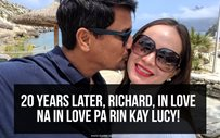 20 years later, Richard, in love na in love pa rin kay Lucy!