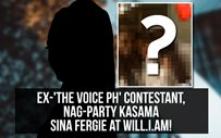 Ex-'The Voice PH' contestant, nag-party kasama sina Fergie at Will.i.am!