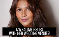 Iza facing issues with her wedding venue?!