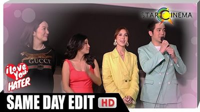 Nothing but love overflowing at the 'I Love You, Hater' grand premiere