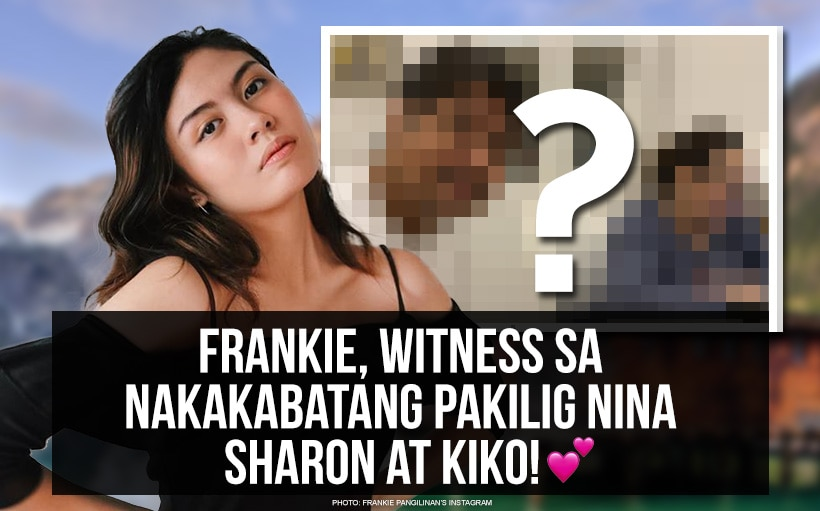 Frankie, witness sa nakakabatang pakilig nina Sharon at Kiko! 💕