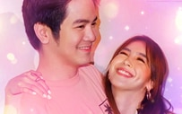 Julia, may special good night message for Joshua pagtapos ng 'I Love You, Hater' premiere