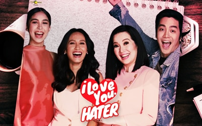 'I Love You, Hater' earns P40 million!