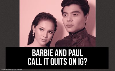 Barbie and Paul call it quits on IG?