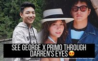 See George x Primo through Darren's eyes 😍