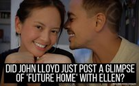 Did John Lloyd just post a glimpse of 'future home' with Ellen?