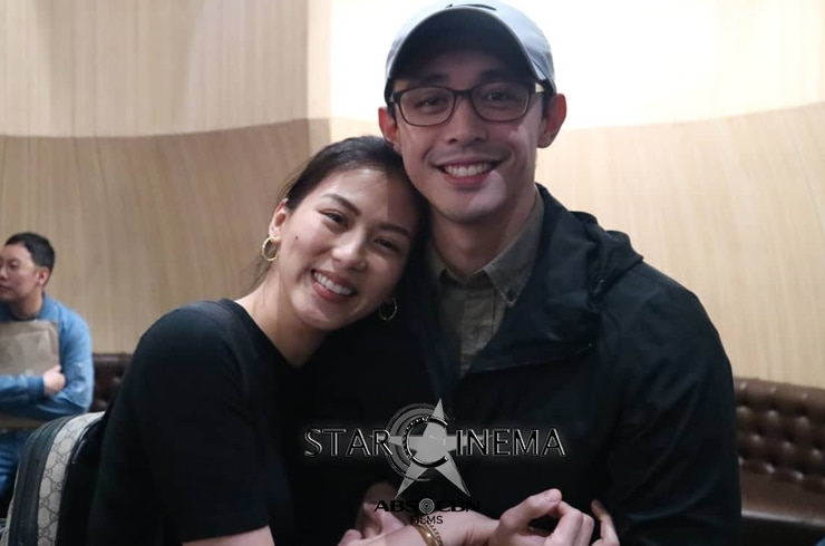 Happily in love Alex with BF Mikee Morada