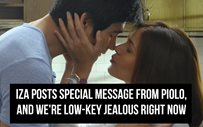 Iza posts special message from Piolo, and we're low-key jealous right now