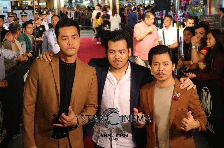 The most gwapo trio on the red carpet!