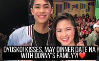 Dyusko! Kisses, may dinner date na with Donny's family?! ❤