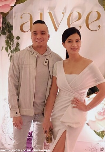 August 2017 - Angel attended the opening of Aivee clinic with Neil