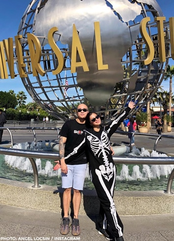 November 2018 - Angel and Neil enjoyed Universal Studios Hollywood!