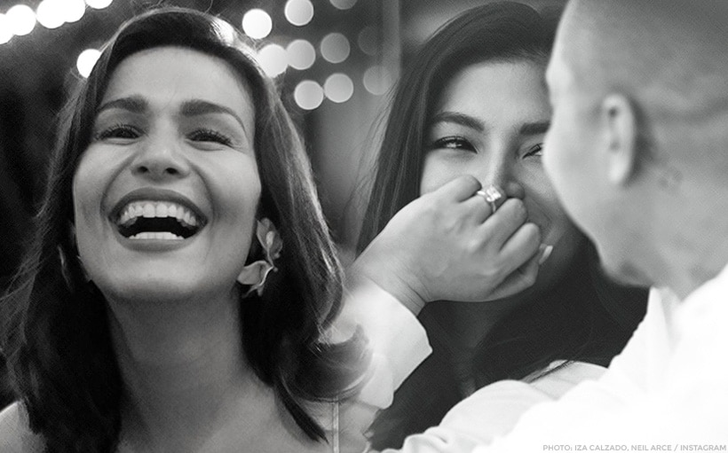 WATCH: Iza Calzado's hilarious reaction to Angel Locsin's engagement!
