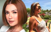 Angelica Panganiban, back in California!
