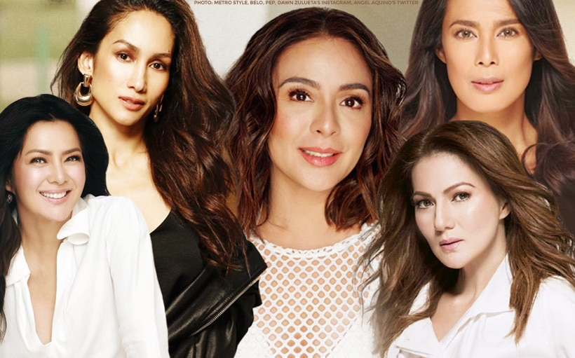 COMPILED: Dawn, Ina, Lucy, Gretchen + more ageless beauties!