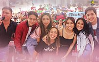 PHOTOS: 'Hello, Love, Goodbye' cast, dinagsa ng fans sa Gateway!