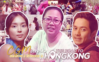 CGMagic: Direk Cathy gave us the real Hong Kong experience in this 'Hello, Love, Goodbye' BTS special!