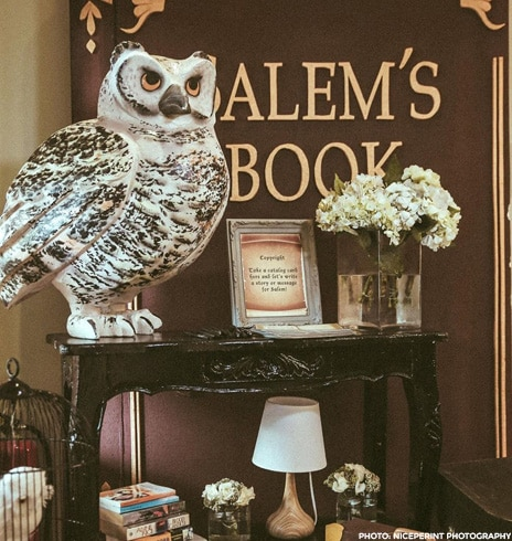 All the photos from Chynna's library-themed baby shower! 3