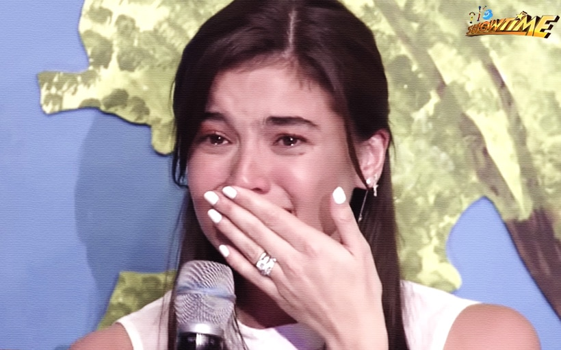 LOOK: Anne Curtis, napaiyak sa kakatawa sa 'It's Showtime!'