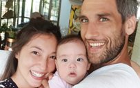 Solenn shares first 'sunset' family photo with Nico and Baby Thylane!
