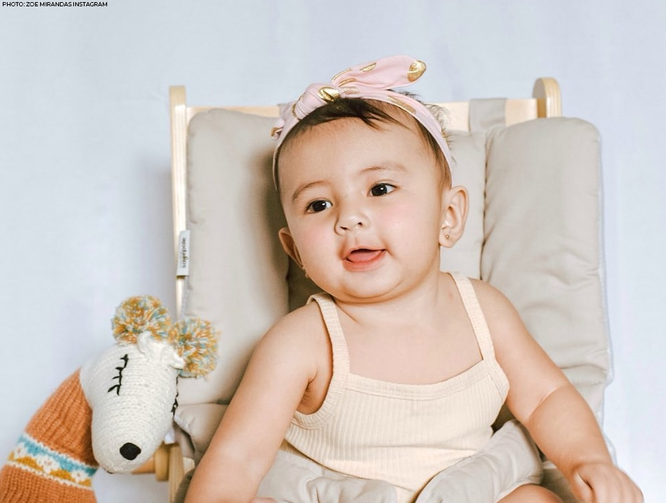 Sofia Andres and Daniel Miranda's daughter Zoe Natalia