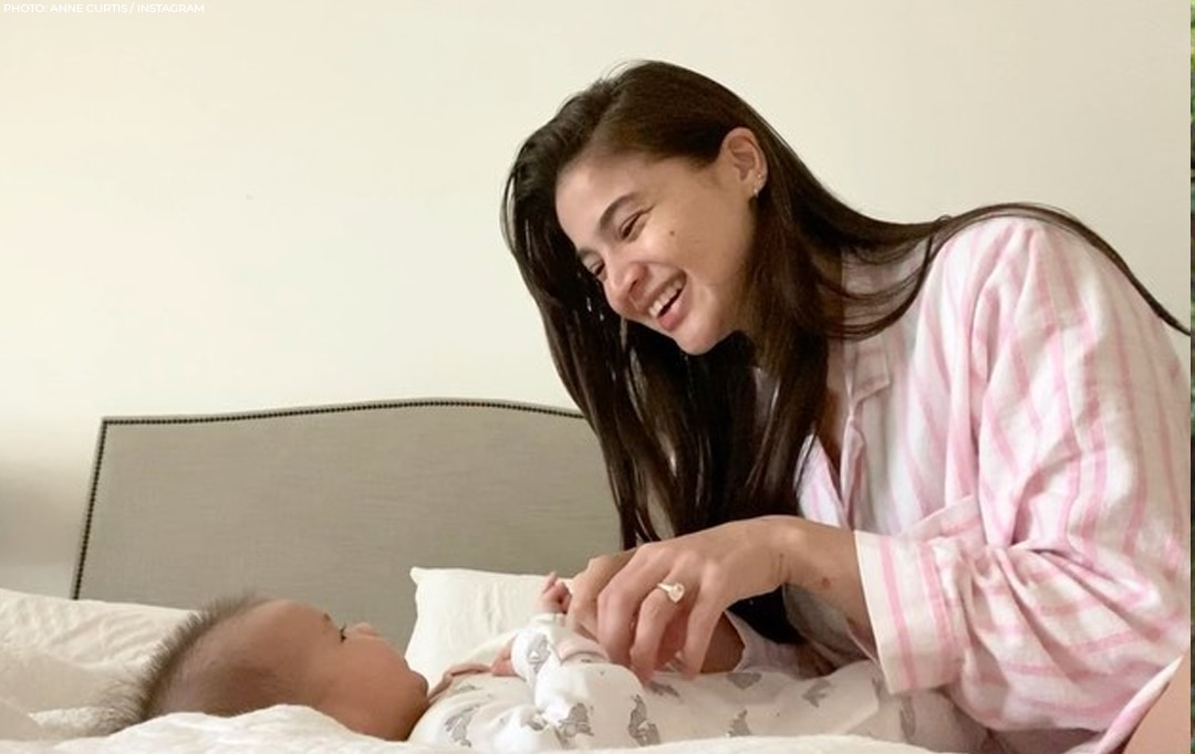 Anne and Erwan's adorable moments with daughter Dahlia