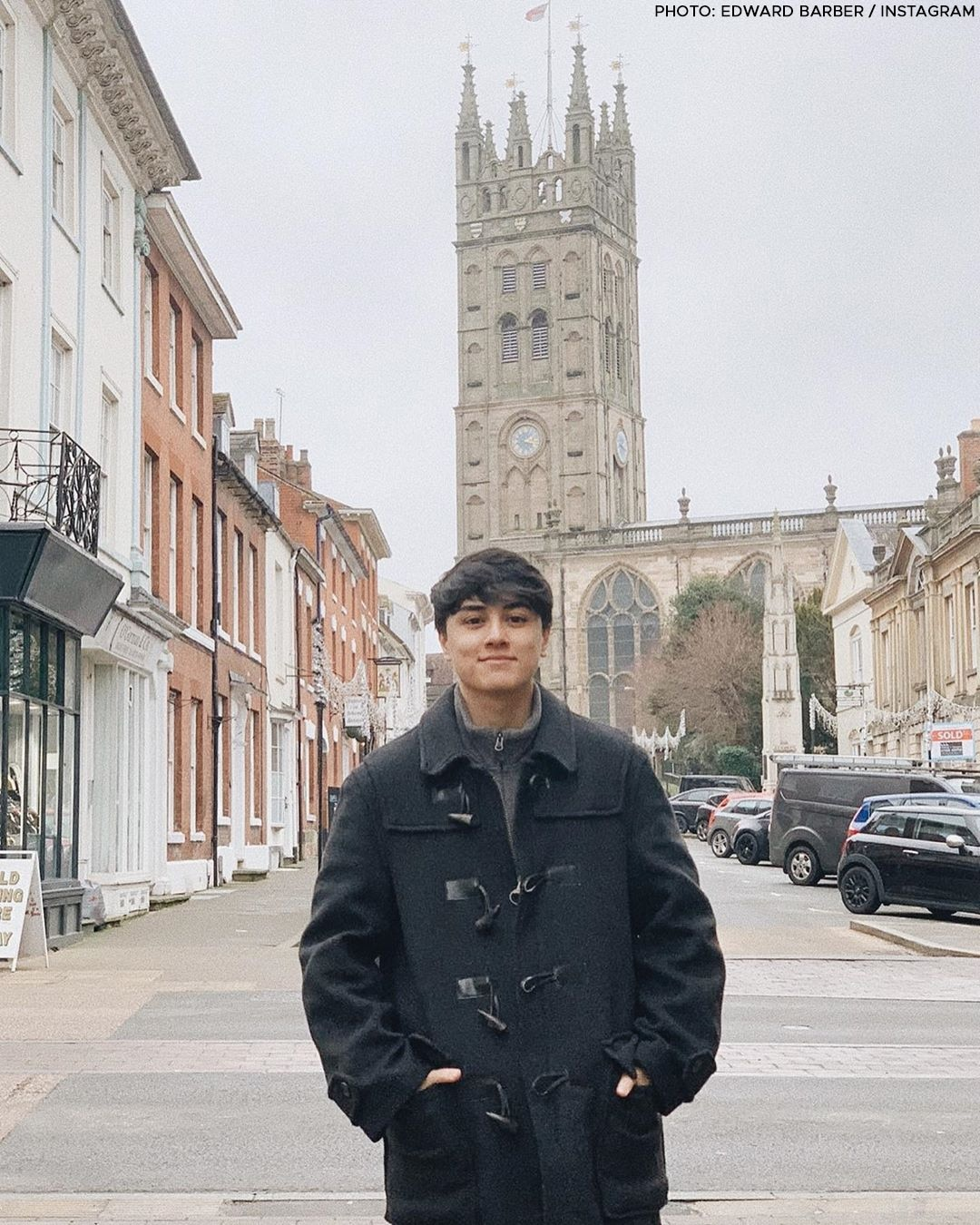 Edward Barber's most dashing moments!