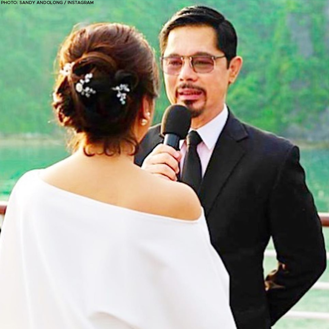 Christopher de Leon and Sandy Andolong, 40 years