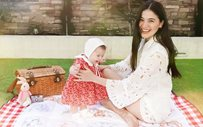 Anne Curtis goes on a backyard picnic with Baby Dahlia!