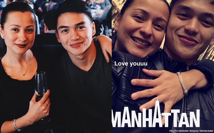 Dominic Roque is Beth Tamayo's nephew