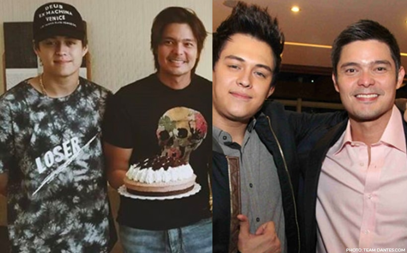 Enrique Gil is Dingdong Dantes' uncle